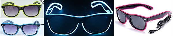 NEW ! Lunettes LED NEON